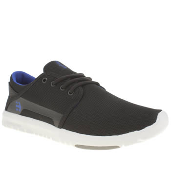 Etnies Black and blue Scout Trainers