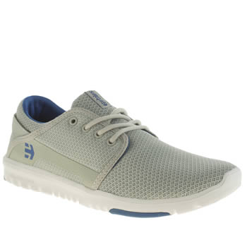 Mens Etnies Grey Scout Trainers