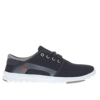 Etnies Navy & Grey Scout Trainers