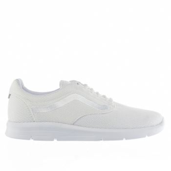 VANS WHITE ISO 1-5 TRAINERS
