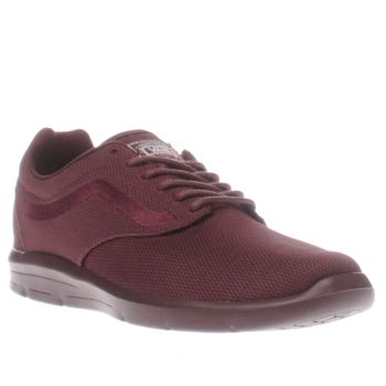 Mens Vans Burgundy Iso 1-5 Trainers