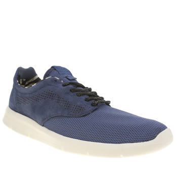 Mens Vans Navy Lxvi Iso 1-5 Trainers