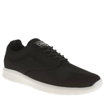 Mens Vans Black & White Iso 1-5 Trainers