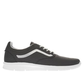 Mens Vans Dark Grey Iso 1-5 Trainers