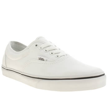 Mens Vans White Lpe Trainers