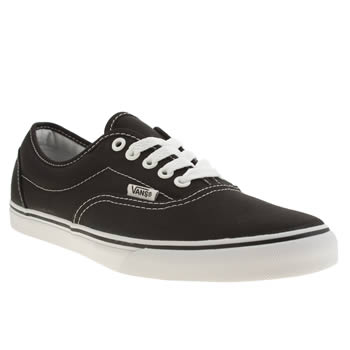 Vans Black & White Lpe Trainers