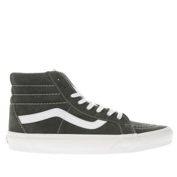 Vans Grey Sk8-Hi Reissue Mens Trainers