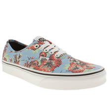 Pl Blue & Red Vans Authentic Star Wars