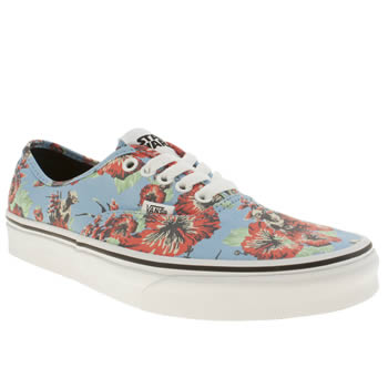 Vans Pl Blue & Red Authentic Star Wars Trainers