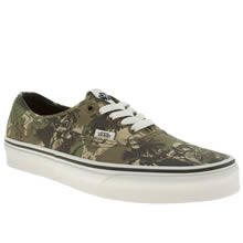 Khaki Vans Authentic Star Wars Boba