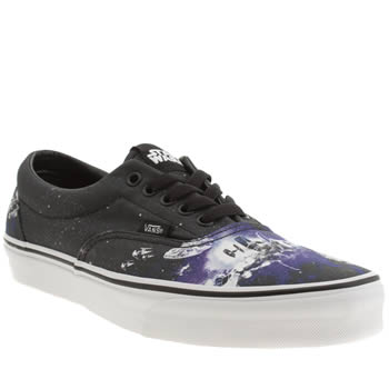 Mens Vans Black and blue Era Star Wars Trainers