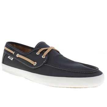 Mens Vans Navy Chauffeur Trainers