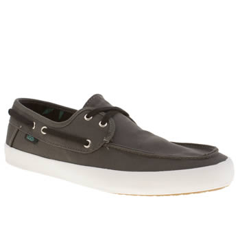 Mens Vans Dark Grey Chauffeur Trainers