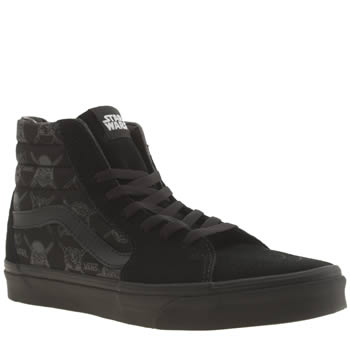 Mens Vans Black Sk8-hi Star Wars Trainers