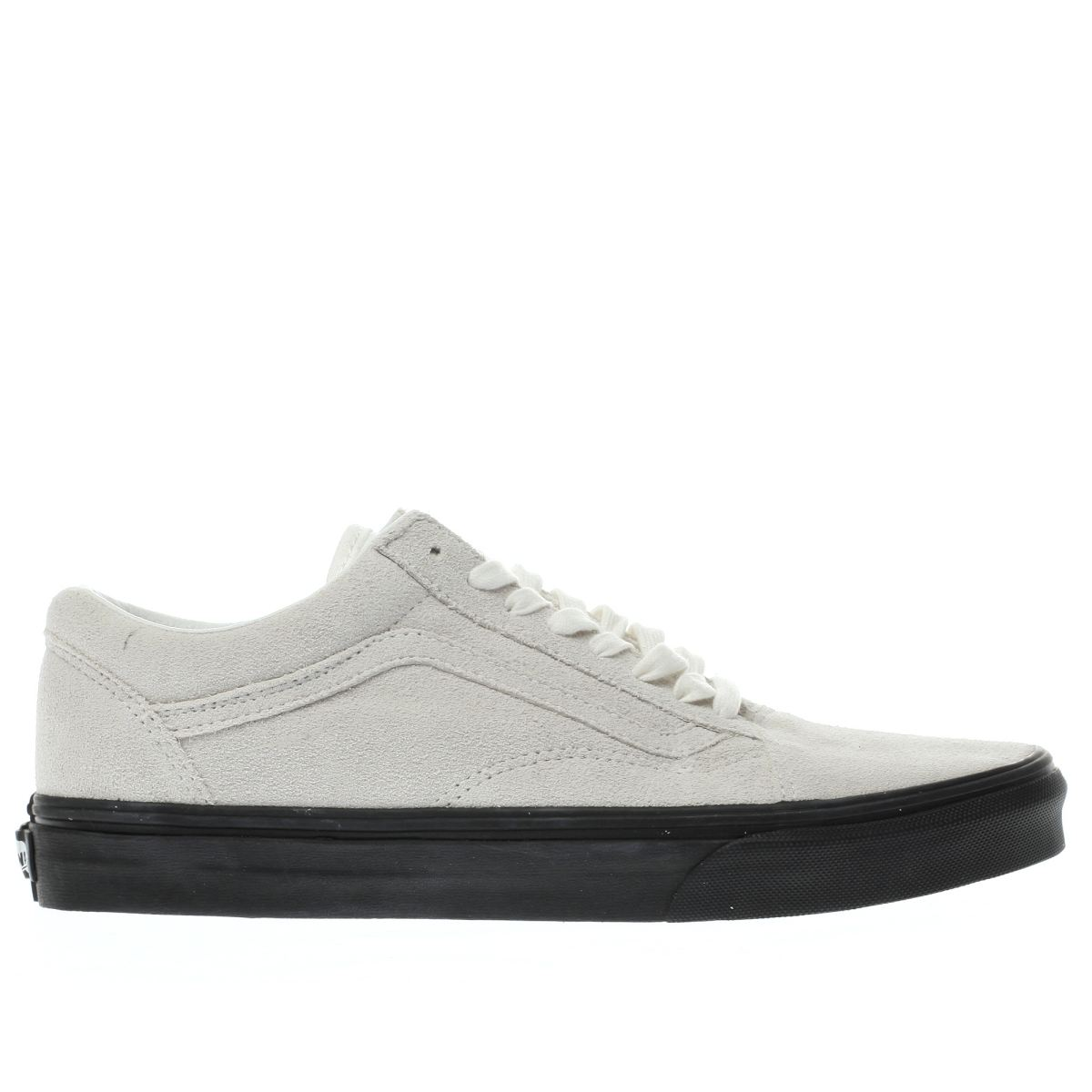 vans white & black old skool trainers
