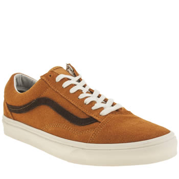 Vans Orange Old Skool Trainers