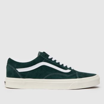 Vans Dark Green Old Skool Reissue Dx Trainers