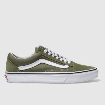 Vans Khaki Old Skool Mens Trainers