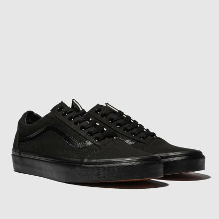mens black vans old skool