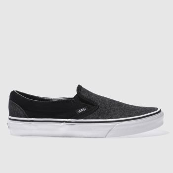 Vans Black Classic Slip-On Mens Trainers
