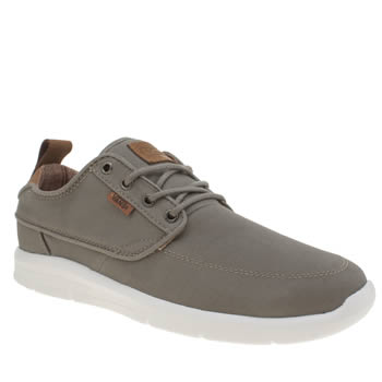 Mens Vans Grey Brigata Lite Trainers
