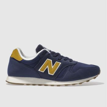 New Balance Navy 373 Trainers