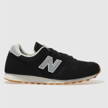 New Balance Black 373 Mens Trainers