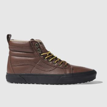 Vans Brown Sk8-Hi Mte Mens Trainers