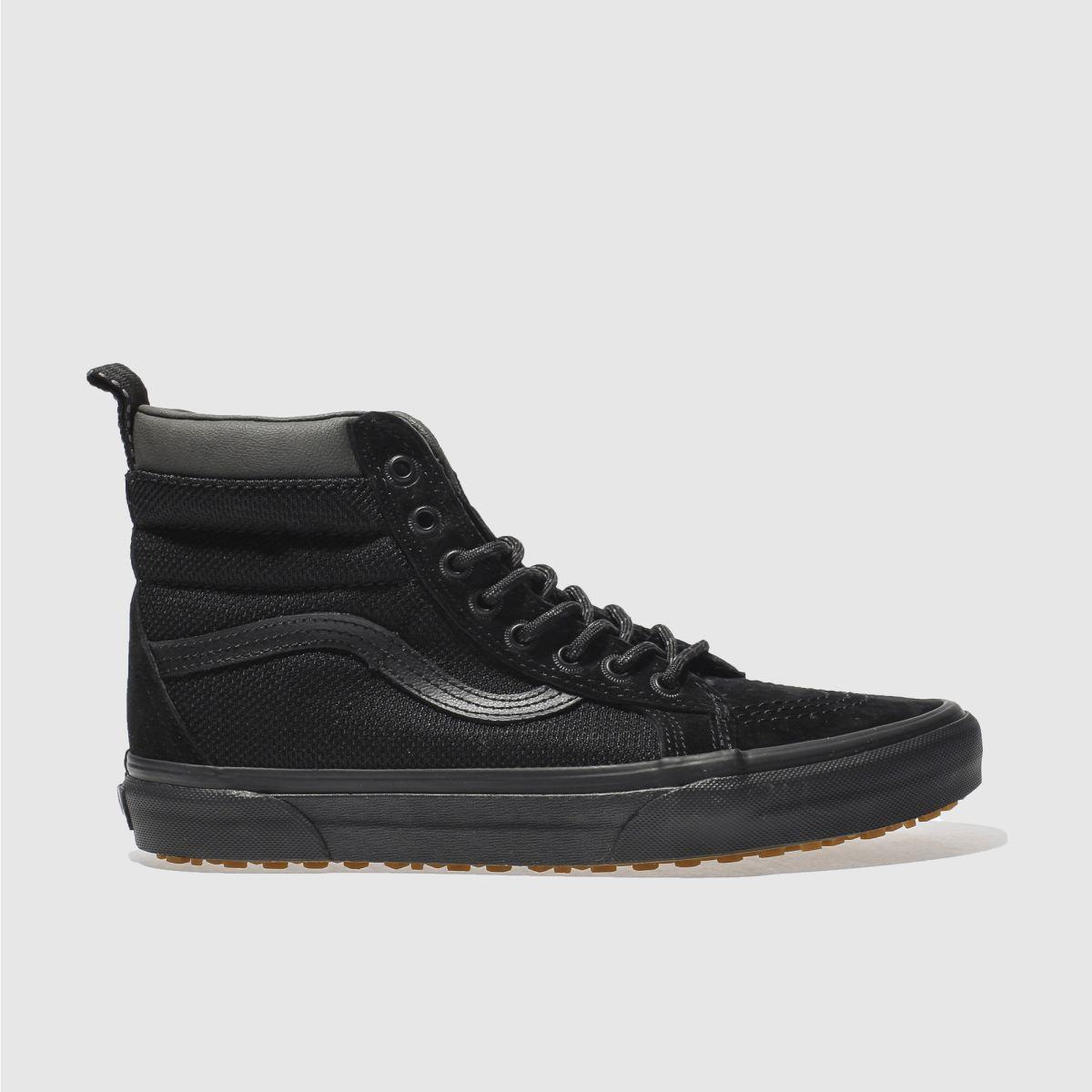 vans black sk8-hi mte trainers