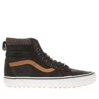 Vans Black & Tan Sk8-hi Mte Mens Trainers