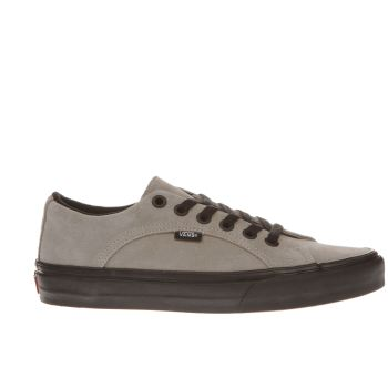 Vans Light Grey Lampin Trainers
