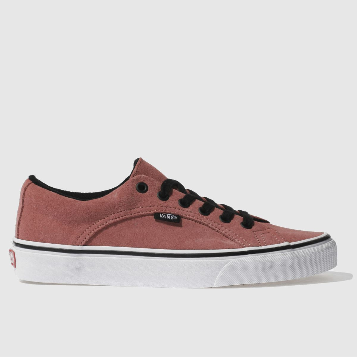 vans red lampin trainers
