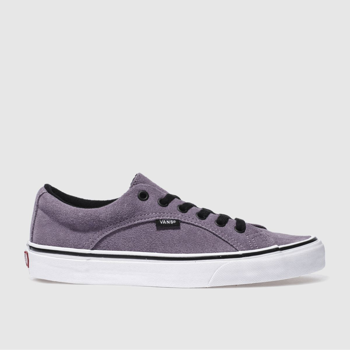 vans purple lampin trainers