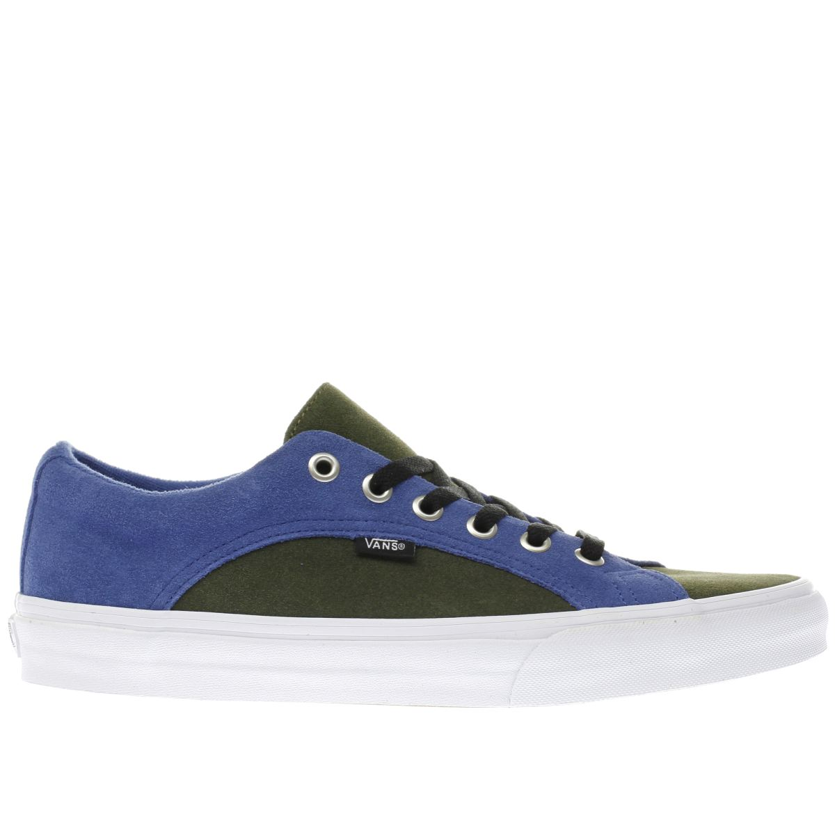 vans green lampin trainers