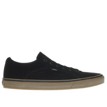 Vans Black Lampin Trainers