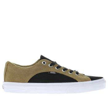 Vans Black & Tan LAMPIN Trainers