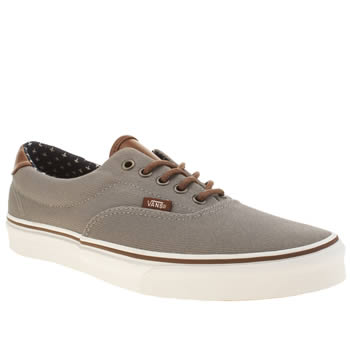 Mens Vans Light Grey Era 59 Trainers