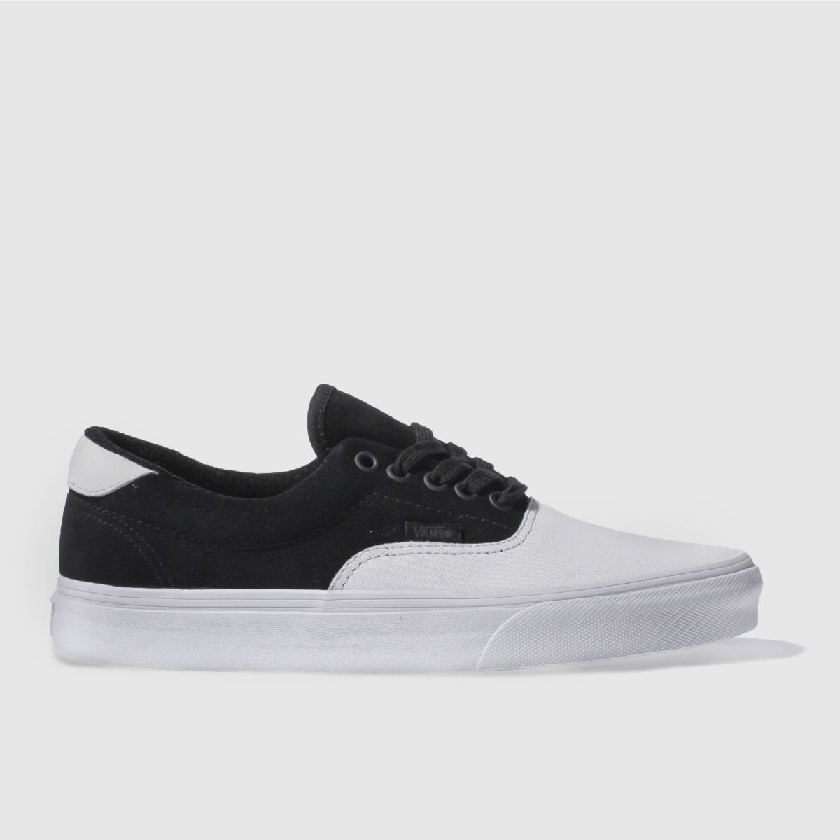 vans black & white era 59 trainers