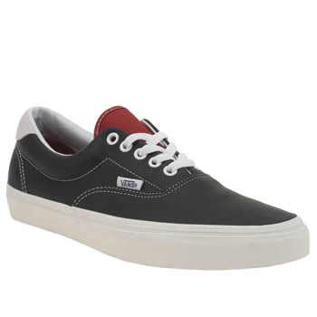 Vans Black & Red Vintage Sport Era 59 Trainers