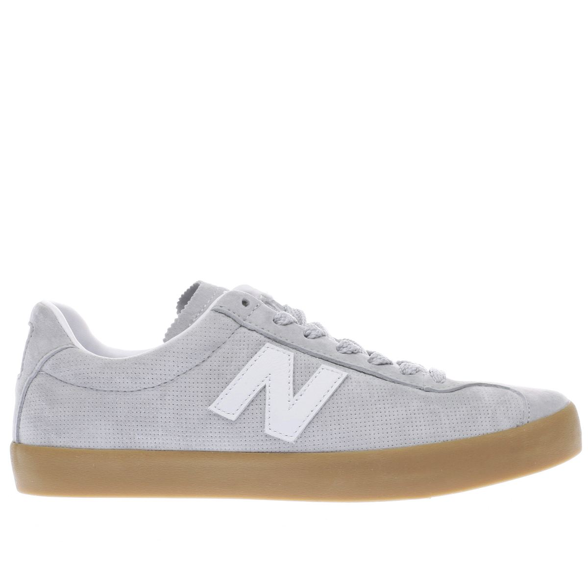 new balance light grey ml22 trainers