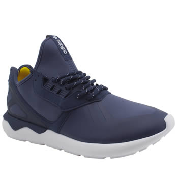 Mens Adidas Blue Tubular Runner Trainers