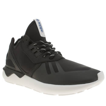Mens Adidas Black Tubular Runner Trainers