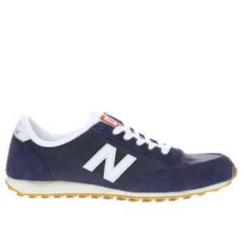 New Balance Navy & White 410 Trainers