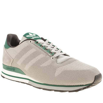 Mens Adidas Grey Zx 500 Weave Trainers