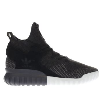 Adidas Black Tubular X Primeknit Mens Trainers