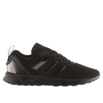 Mens Adidas Black Zx Flux Adv Trainers