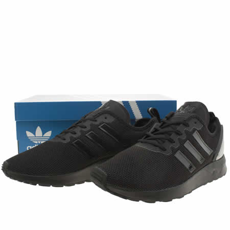 Adidas Zx Flux Adv Triple Black
