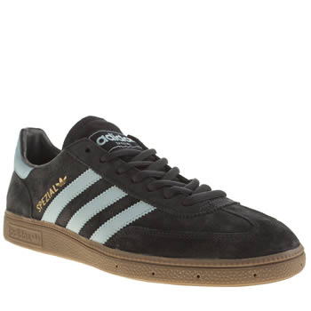 Mens Adidas Navy & Pl Blue Spezial Trainers