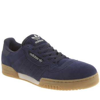 Mens Adidas Navy Powerphase Trainers