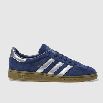 Adidas Navy Munchen Mens Trainers